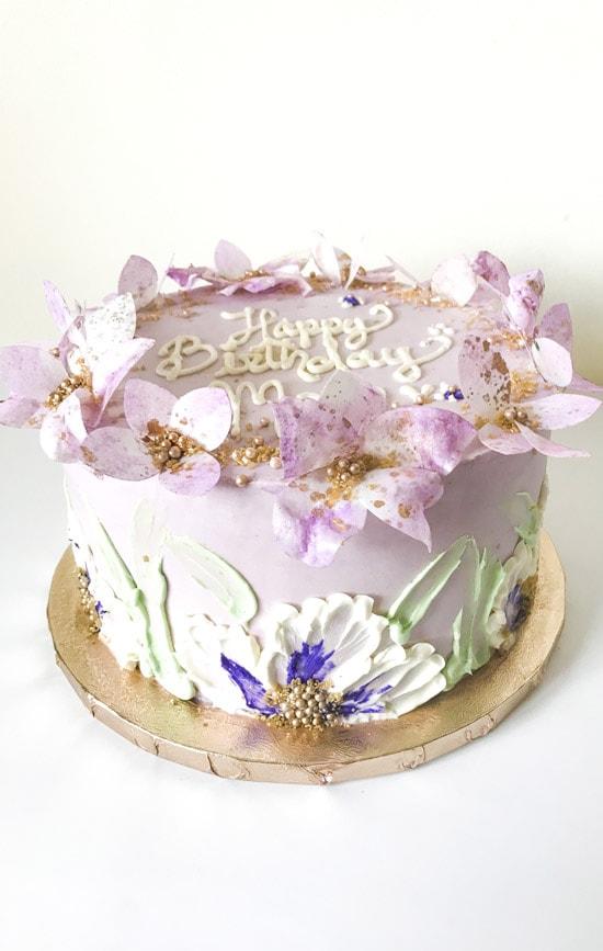 Petal Dust Cakery Custom Birthday Cakes By Pastry Chef Cristina